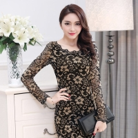 Dress Lace gold DSJT2200702J836