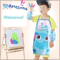 Apron Celemek Set Waterproof Anak Dewasa Celemek Apron + Manset Tangan