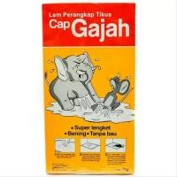 Lem Tikus Cap Gajah Trap / Papan 70 Gram 70 Gr Original