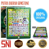 Ty05 Mainan Anak Playpad Pintar Belajar Quran Muslim LED 4 Bahasa iPad