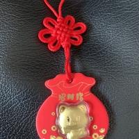 Angpao Babi Emas / Gantungan Emas Bentuk Babi / Emas 24k asli / Angpao
