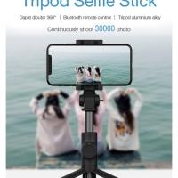 Vivan ST-BT01 Selfie stick tongsis tripod bluetooth mirip xiaomi