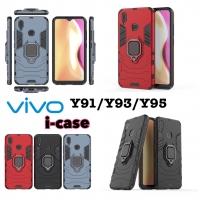 Vivo Y91 Y93 Y95 case iron armor iRing - casing cover vivo y95 y93 y91