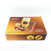 Multi Tester Avometer Multimeter Digital Heles UX-837TR