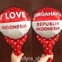Balon Foil Kemerdekaan Indonesia Dirgahayu RI HUT Pentung Tongkat