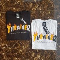 Baju Thraser Tee Original Fire USA White And Black