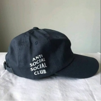 assc anti social club cap topi ori original navy new
