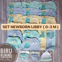 TERMURAH Paket Newborn LIBBY ! 31 pcs - Paket Perlengkapan Bayi Lahir