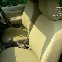 Sarung Jok Mobil Honda CRV Full Semua Baris Bahan Kulit Lembut