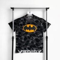 KAOS BAJU BAPE A BATHING APE x DC COMIC BATMAN SUPER MIRROR 1:1 ORI
