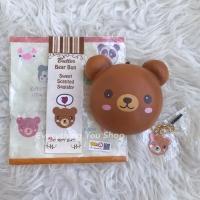 RARE Punimaru Animal Bun ( Bear ) Squishy Lisenced