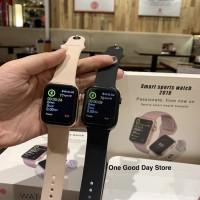 Smart watch apple clone atau Iwo 10 pakai GPS loh