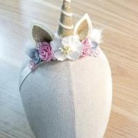 Bando / hairband unicorn anak import