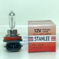 Bohlam lampu bamper halogen H8 12v 35w merk stanlee star