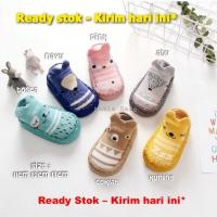 Baby prewalker sepatu bayi korea kaos kaki booties skidder skidders