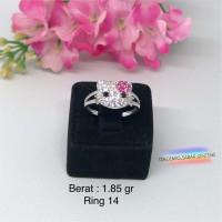 Cincin Emas Putih Hello Kitty