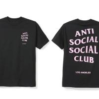 assc anti social club tee kaos logo ori original new bnip los angeles
