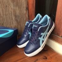 Asics Casual Aaron Leather Peacoat Gris Blue ORIGINAL BNIB