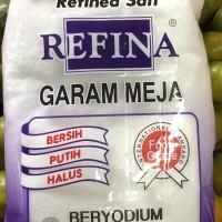 Refina Garam Meja Beryodium 500gr