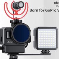 Ulanzi V2 Pro Vlog Case Set Up for Gopro Hero Black 7 6 5 Vlogging