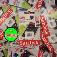 Memory Sandisk 32GB Class 10 Speed 80mbps Non Adapter Original