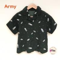 Kemeja pantai / baju pantai murah / summer shirt / tropical / daun