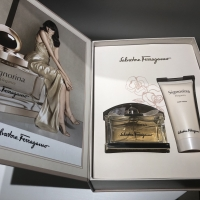 Salvatore Feragamo signoria gift set/ body lotion kado valentine