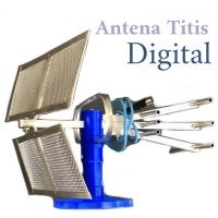 Antena TV Indoor Digital Titis | Dalam Ruangan