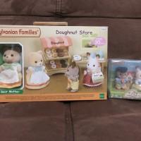Sylvanian Families - Paket Doughnut store & Duo baby