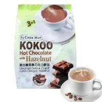 Kokoo Hot Chocolate 3in1 with Hazelnut isi 15 Sachet