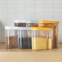 Wadah Plastik Container Dapur Cereal, Biji Kacang, Snack dll