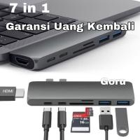 USB Type C Macbook Pro Converter Adapter HUB HDMI OTG microsd 7 in 1