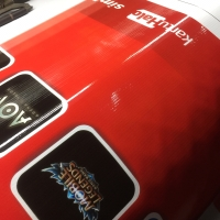 Cetak Spanduk / Banner bahan Matte Flexi 380gsm