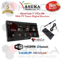 Asuka PTA-100 Head Unit 7-inch Double din With Car TV Tuner Digital