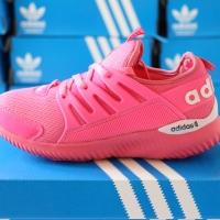 ΑDIDAS Alphabounce Tubular Warna Pink Sepatu Wanita Running Fashion