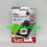 SanDisk ultra Micro SDHC 32GB memory card A1 class 10 MicroSD HC 32 GB