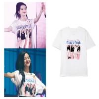 Kaos Jisoo BLACKPINK SQUARE UP TOUR Baju Kpop Shirt - 4574