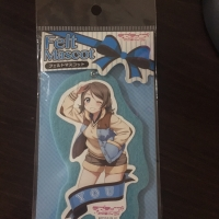 Watanabe You (Aqours) Merchandise (felt mascot, square badge)