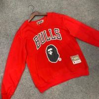 Sweater Bape x Chicago BULLS