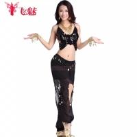 Belly dance 1 set baju kupu celana aladin sifon kostum tari halloween