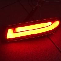 ALL NEW AVANZA XENIA TYPE G LAMPU LED BUMPER MATA KUCING SMOKE BAR