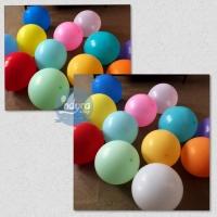 [isi 50 pcs] Balon Doff / Balon Lateks / Balon Latex / Balon Pesta