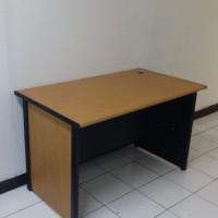 Meja kantor/ kerja AURA uk 120x60x75 ( warna cherry)