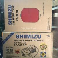 Pompa Air Jetpump Shimizu PC 260 BIT Complete Set Murah