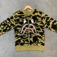 Bape Green Shark Sweater
