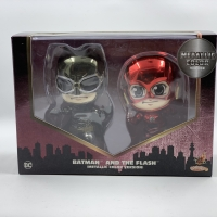 Hot Toys cosbaby Batman and the Flash