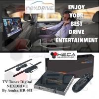 NexDrive By Asuka HR-681 DVB-T2 TV Tuner Digital Mobil