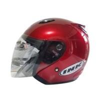 Termurah!!! Helm ink centro warna merah maroon