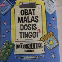 Obat malas dosis tinggi buku millenial