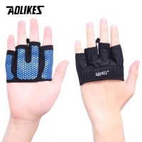 111 AOLIKES PALM GLOVES SARUNG TANGAN GRIP SUPPORT WRIST WRAP FITNESS